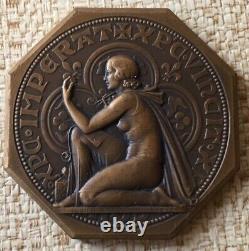 Very Rare Jeton Sct French Numismatic By Bazor