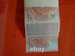 Very Rare Liasse Billets Tourists Souvenirs 0 Euro No.00002 To 000100! 2015