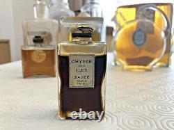 Very Rare Magnificent Flacon Perfume Art Deco New Cyprus Sauze Islands Paris