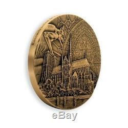 Very Rare Medal Our Lady Of Paris Florentine Bronze Exhausted CDM 991/999