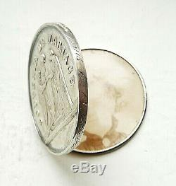 Very Rare Medal Wedding Box 1869 Silver