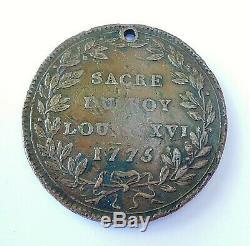 Very Rare Pass Of The Sacre De Louis XVI 1775