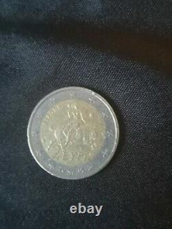 Very Rare Piece 2 Euros Eypo Greece 2002 (s In The Bottom Star) Greece