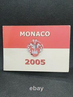 Very Rare Piece Monaco 2 Euros 2005 Test Probe M453