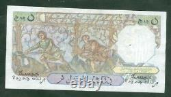 Very Rare Ticket Of 5 Nf Algeria From 18 12 19598 Ttb A Sup