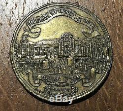 Very Rare Token Comp. Farmhouse Establishment Thermal Vichy 1866 (134) Casino