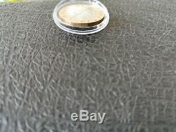 Very Rare Typing Test Bi Metal 10 Frs Ginie Of Batille To Grasp