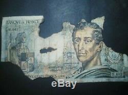 Very Raresérie H. 402 Montesquieu 15 Copies Known, 3 Bonaparte Very Damaged
