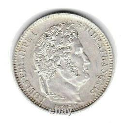 (n°130) 2 Francs Louis Philippe 1847 A (fdc) Status Very Rare 798285 Ex