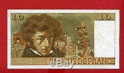 (ref H. 263) 10 Nf Berlioz 4/12/1975 (very Rare) Alph 263 (sup-)