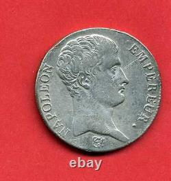 (rf. 01) Napoleon 1 5 Francs An 14 L Bayonne (tres Rare) Ttb