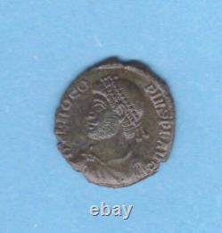 (rom. 36) Procopius Majorina Or Nummus 365-366 (very Rare)