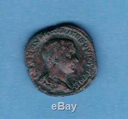 (rom 85) Hostilian (250-251) Sesterce Revert Princ Ivvent (very Rare) Ttb