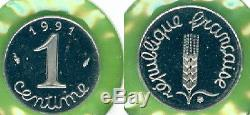 1 Centime Epi 1991 Tres Rare Frappe Normale