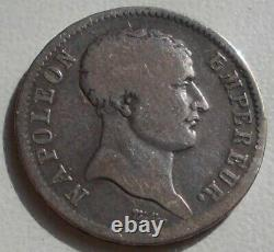 1 Franc 1807 A Tete De Negre Tres Rare