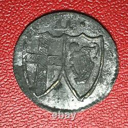 #1069 TRES RARE Royaume Uni Penny Commonwealth 1649-1660 QUALITE FACTURE