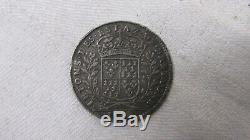 1687 Tres Rare Jeton Ietons Des Etats Estats De Bretagne Louis XIV Argent