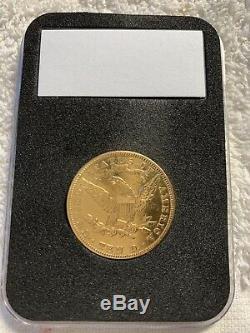 1893 Rare $10 gold Liberty Eagle Dix Dollars Très bon état