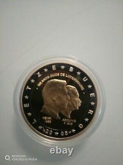 2 euros BE/PP/PROOF/KMS LUXEMBOURG 2005 monnaie de paris. Tres rare