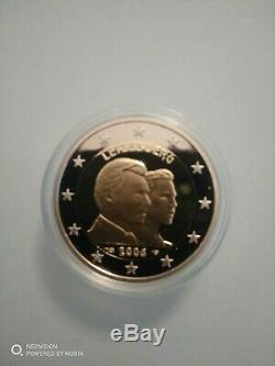 2 euros BE/PP/PROOF/KMS LUXEMBOURG 2006 monnaie de paris. Tres rare