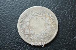 2 francs Napoleon empereur an 13 L tres rare