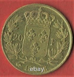20 Fr Or 1817 K Bordeaux Tres Rare 4803 Exemplai État Voir Photo Et Descriptif