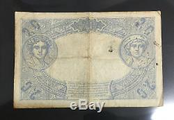 20 Francs 1912 Bleu 19 Decembre 1912 Billet Français Tres Rare