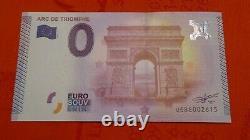 2015! Tres Rares Billets Touristiques Souvenirs 0 Euro! 2015