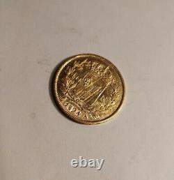 40 FRANCS OR 1824 CHARLES X ATELIER A PARIS FRANCE / MONNAIE très RARE