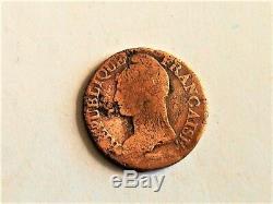 5 centimes Dupré l'An 9 D -Pièce très rare. (frappée à 97 788 exemplaires)