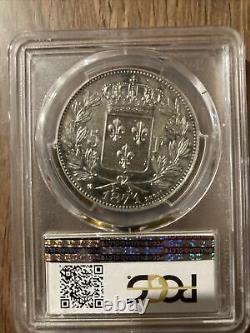 5 francs ecu argent Henri V Tres Rare