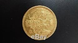 5 roubles 1848 or RUSSIA coin RUSSIAN NICOLAS l gold TRES RARE