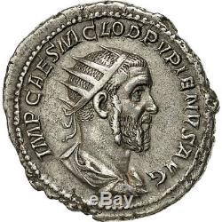 #650725 Monnaie, Pupien, Antoninien, 238, Rome, Très rare, SUP+, Billon