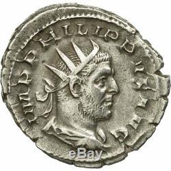 #651158 Monnaie, Philippe I l'Arabe, Antoninien, 244-247, Rome, Très rare