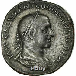 #657521 Monnaie, Gordian II, Sesterce, Rome, Très rare, TTB, Bronze, RIC8