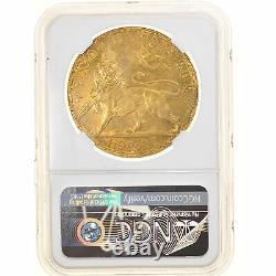 #906460 Monnaie, Éthiopie, Birr, 1892 (1899), Paris, Très rare, NGC, MS64