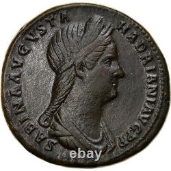 #906785 Monnaie, Sabine, Sesterce, 129, Rome, Très rare, SUP, Bronze