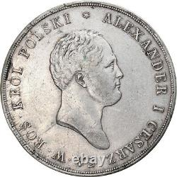 #906971 Monnaie, Pologne, Alexander I, 10 Zlotych, 1822, Warsaw, Très rare