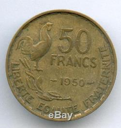 A Saisir Tres Rare 50 Francs Guiraud De 1950 @ Top Rare