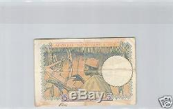 Aef Afrique Equatoriale Francaise Cameroun 5 Francs Nd Alphabet A. 22 Tres Rare