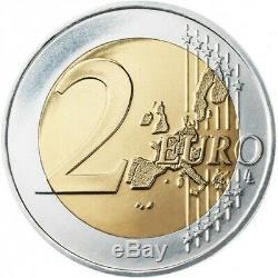Authentique Pièce 2 euros Commémorative FRANCE 2017 Cancer du Sein Très Rare
