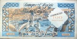Banque De Lalgérie Et De Tunisie Tres Rare Billet De Propagande