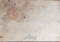Banque de Law Billet de 50 Livres du 2 septembre 1720 Très RARE