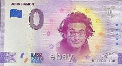 Billet 0 Euro John Hamon France Numero Divers Tres Rare