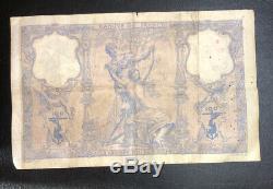 Billet 100 Francs Bleu Et Rose 05/05/1893 Date Très Rare