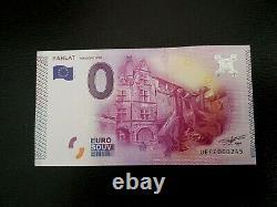 Billet Touristique Sarlat 2015.6 Oies Tres Rare 1000 Ex