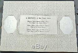 Billet de 1000 FRANCS LOUIS XIV 1938 épreuve de Desfossés TRES RARE