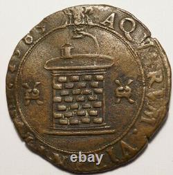 Bourgogne Tres Rare Jeton De Beaune 1585 Puits De Beaune