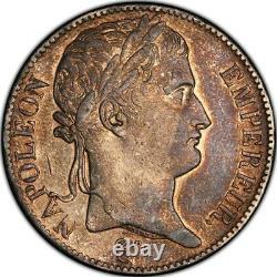Cent-Jours 5 Francs Napoléon Empereur 1815 Paris Très bel exemplaire rare