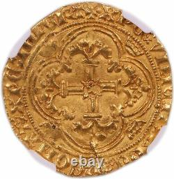 Charles VII Royal d'or Poitiers- NGC MS 63 Très rare